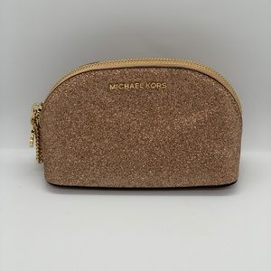 Michael Kors MD Travel Pouch NWT